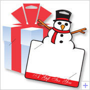 Die Cut Gift Card Holder Selection