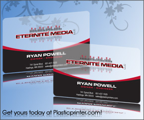 Frosted Plastic Card Printing Sample 14