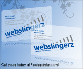 Frosted Plastic Card Printing Sample 4