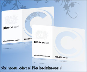 Frosted Plastic Card Printing Sample 7