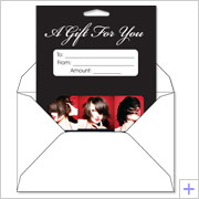 Gift Card Backer Envelopes