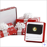 Gift Card Holder Present Boxes