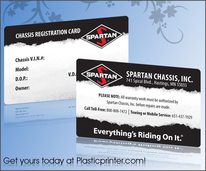 Plastic Membership Card Printing – Sample Membership Card