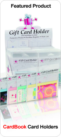 Cardbook Gift Card Holder. Affordable Gift Card Accessory