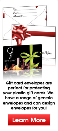 Present Style Gift Card Envelopes
