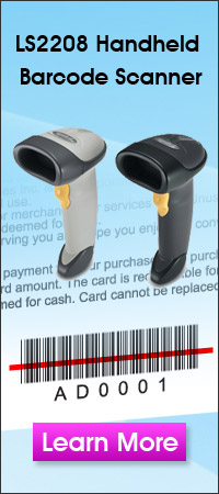 Hand Held Professional Grade Barcode Scanner