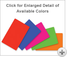 Colored Plastic Card Stocks for Plastic Card Printers