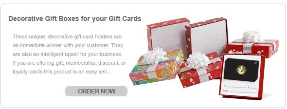 Gift Box Gift Card Holder
