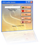 Gift Card Processing Software